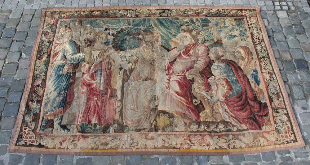 16th C. tapestry