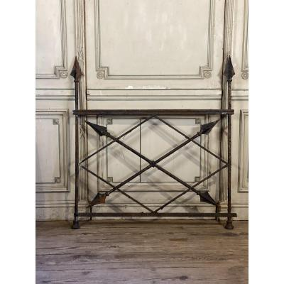 18th C. iron barrier