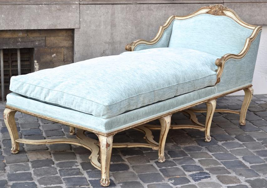 18th C. Tuscan Rococo Daybed