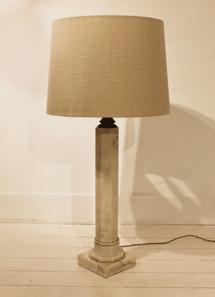 1960's Marble Table Lamp by Vlug