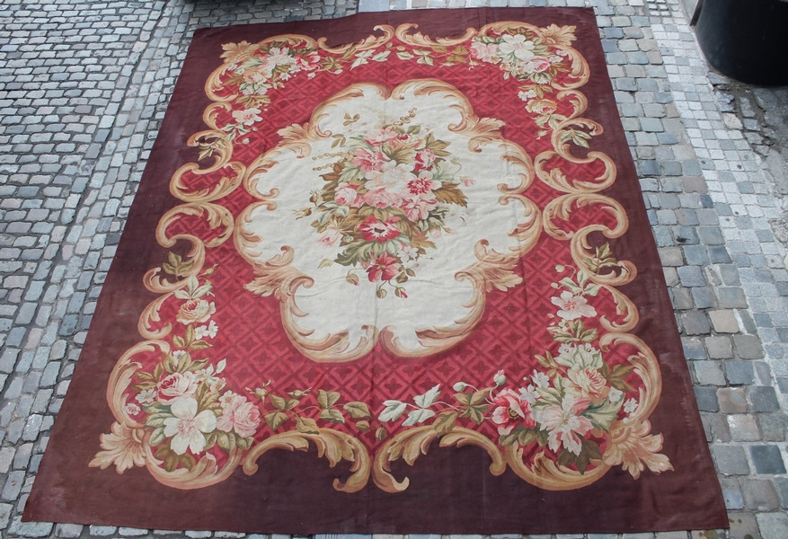 Aubusson 19th C. Carpet