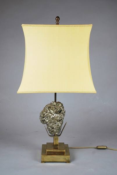 Brass auxiliary lamp