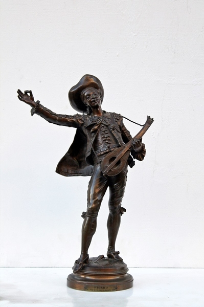 Bronze sculpture by Auguste Moreau,