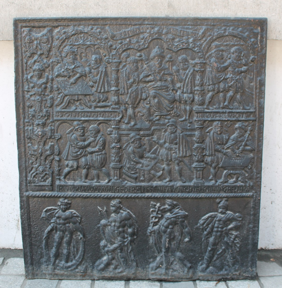 Cast Iron Fireplace Back Plate Parable Of The Unforgiving Servant