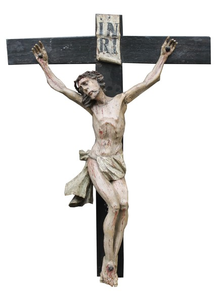 Christ on a Carved wooden cross