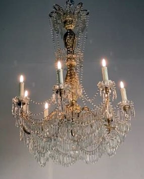 Early 20th C. italian chandelier