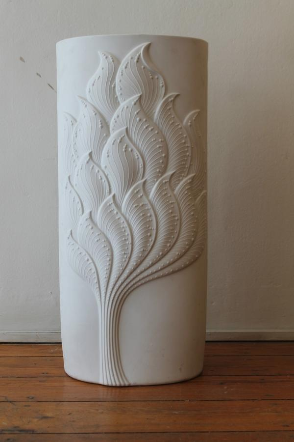 German vase in porcelain
