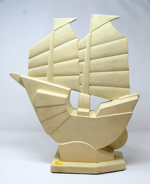 J. De Mey's boat for the Nimy earthenware factory.