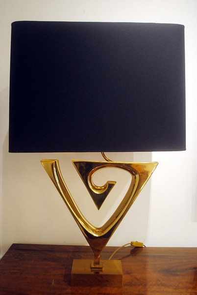 Lamp by Willy Daro, circa 1970
