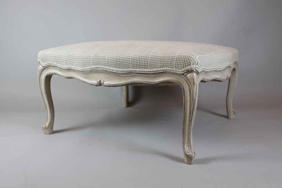 Large Louis XV style footrest