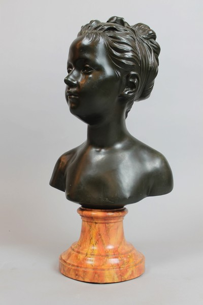 Louise Brongniart bust after Houdon