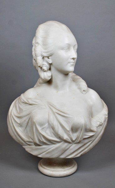 Marble bust of Madame du Barry