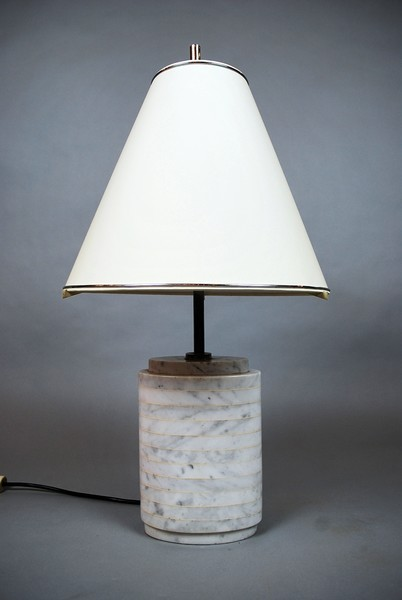 Marble Lamp, 70's, Italy