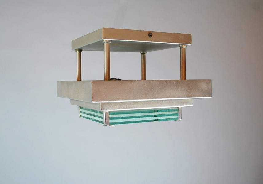 Modernist ceiling light by Beckers