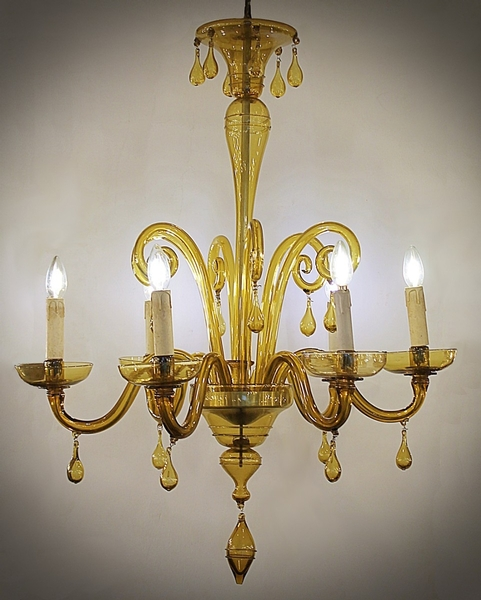 Murano chandelier from the 50'