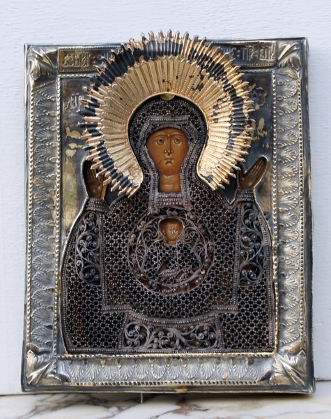 Our Lady of the sign, Znamenie, Icon