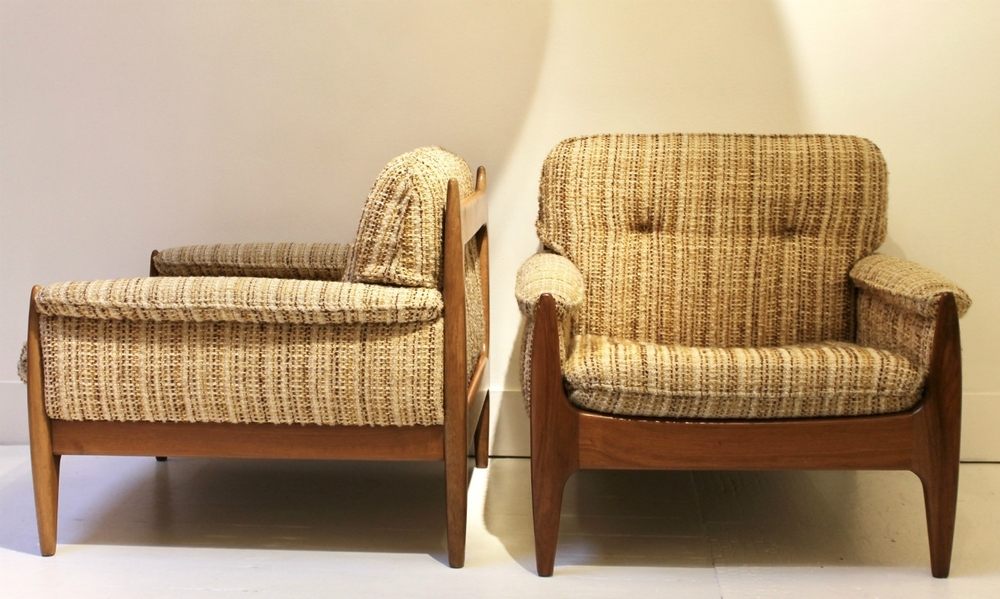 Pair of 1960's armchairs attr. Sergio Rodriguez