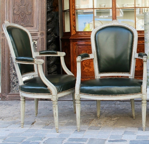 pair of armchairs, 18 c.