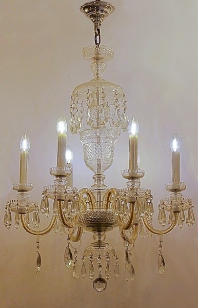 Pendant chandelier, 20th c.
