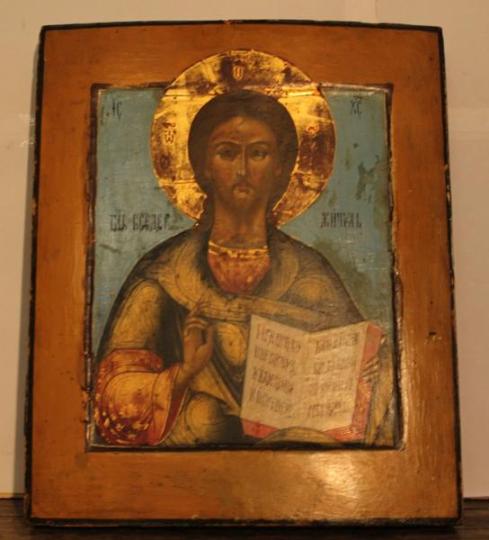 Russian orthodox icon, Christ Pantocrator