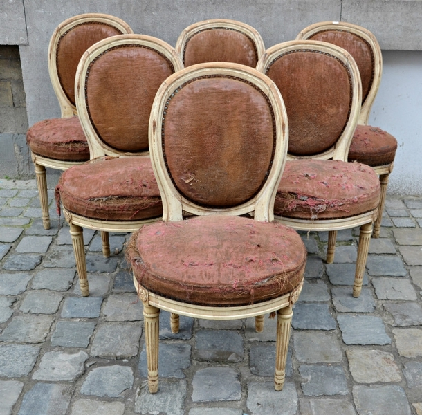 Set of 6 chairs, L XVI