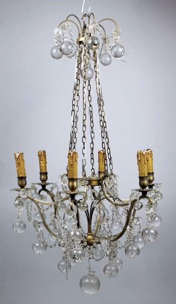 Small romantic chandelier