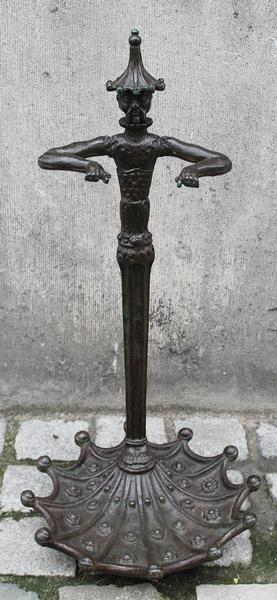 Umbrella Stand in Bronze, 20th.C