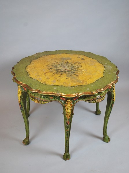 Venetian Louis XV style painted table