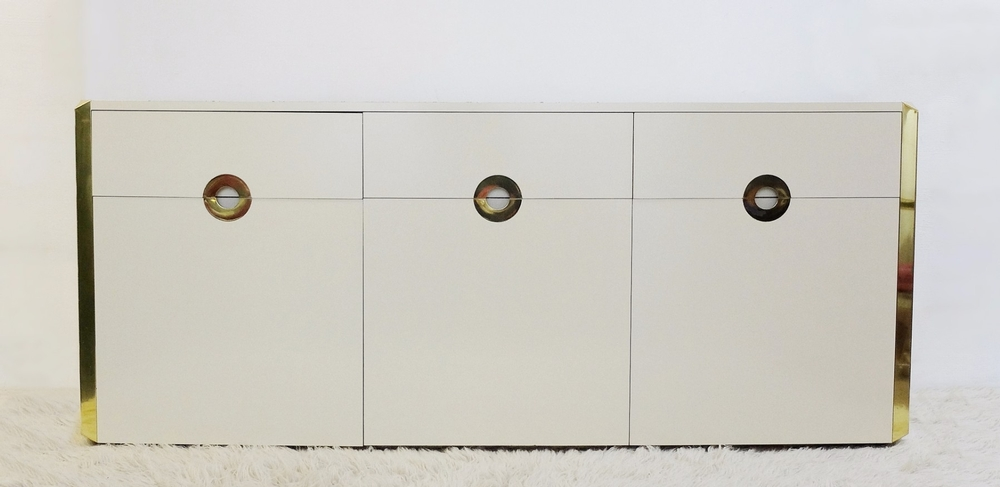 Willy Rizzo style, sideboard for Mario Sabot